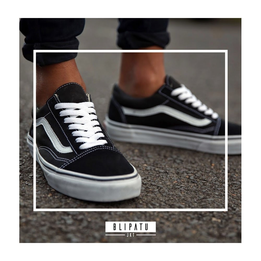 0c7e5dc423 VANS OLD SKOOL BLACK-WHITE PREMIUM QUALITY