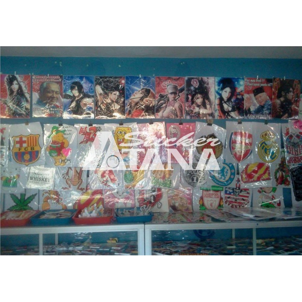 Sticker Vinyl Sablon Jumbo Printing Kartun Popeye Si Pelaut