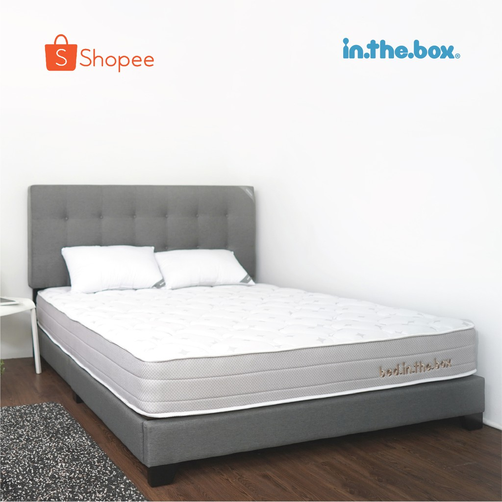 Kasur Spring Bed Inthebox Ukuran 180x200 King Size Ukuran kasur queen size