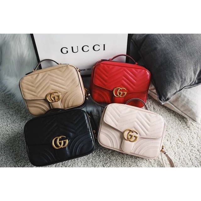 fc8d01284 Gucci GG Marmont Small Shoulder Bag