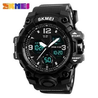 SKMEI 1155B ORIGINAL / Jam Tangan Pria / Jam Tangan Sport Dual Time / Anti Air